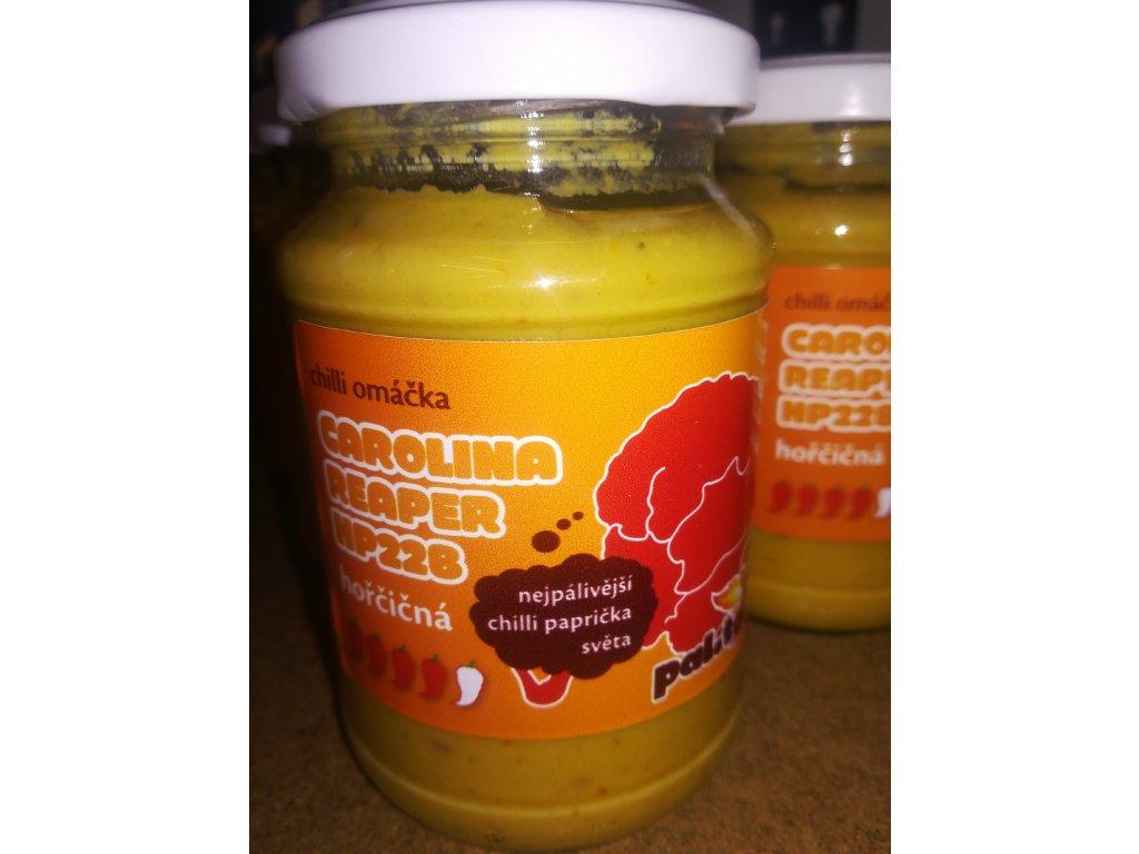 Hořčičná chilli omáčka – Carolina Reaper HP22B