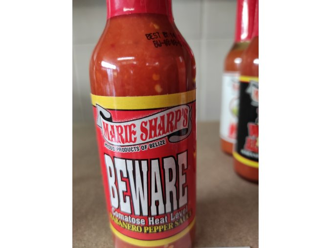 Habanero pepper sauce beware po expiraci