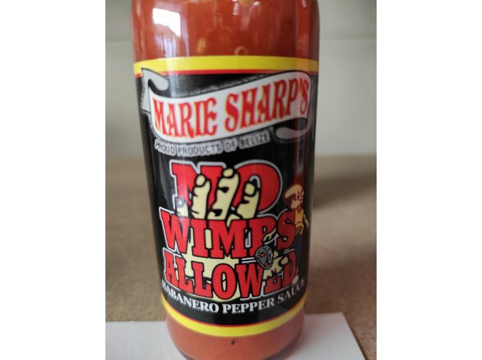 Habanero pepper sauce no wimps