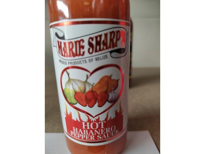 Habanero pepper sauce hot