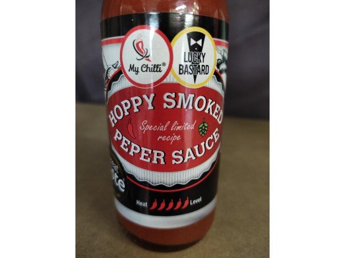Hoppy smoked pepper sauce