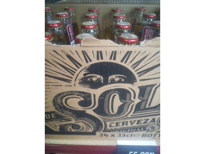 SOL cerveza 0,33l