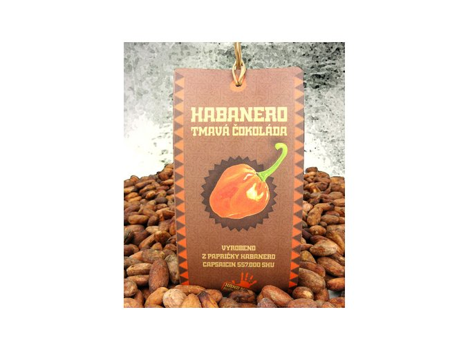 habanero tmava cokolada 45g