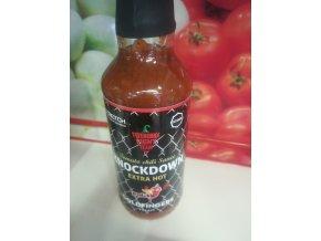 Knockdown extra hot sauce