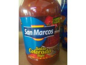 Salsa Colorada style
