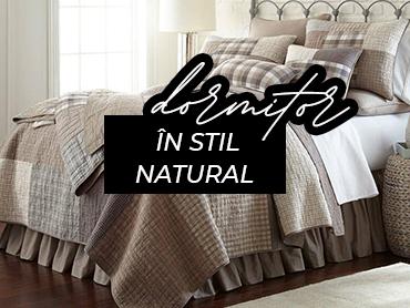 Stil rural: dormitor romantic, cu o tema rurala