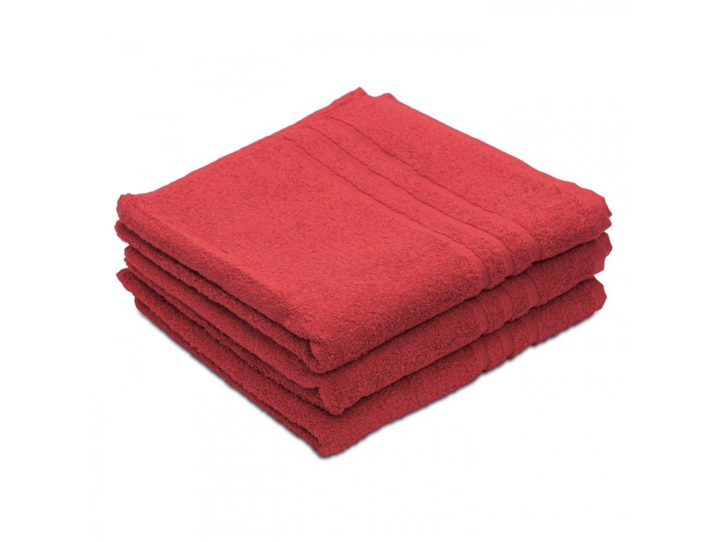 Prosop de corp Confort rosu