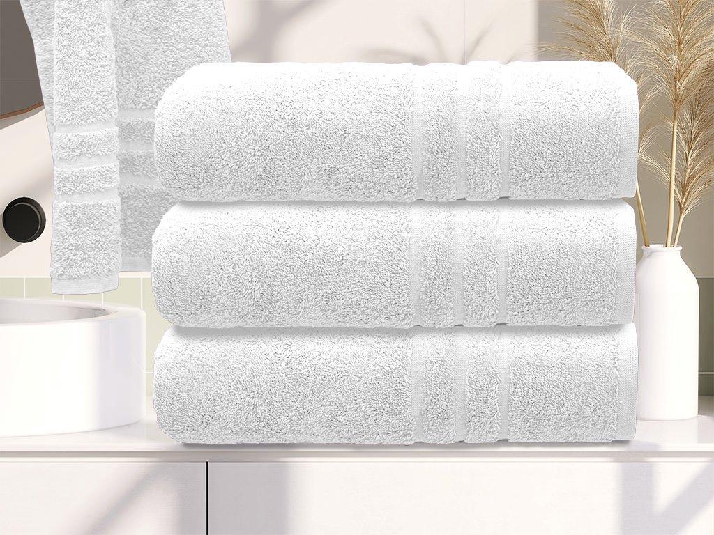 Prosop de corp Confort alb