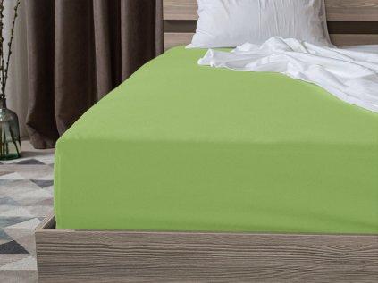 Jersey bavlna zelena