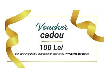 Voucher cadou de Crăciun pentru 100 Lei