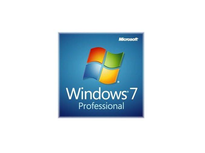 MS OEM Windows 7 Pro SP1 64bit CZ DVD