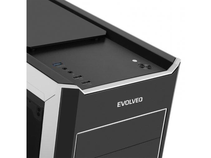 Herní PC Intel i5-9400F/ 8GB/ Nvidia GTX 1050 2GB/ 1TB/ DVDRW/450W