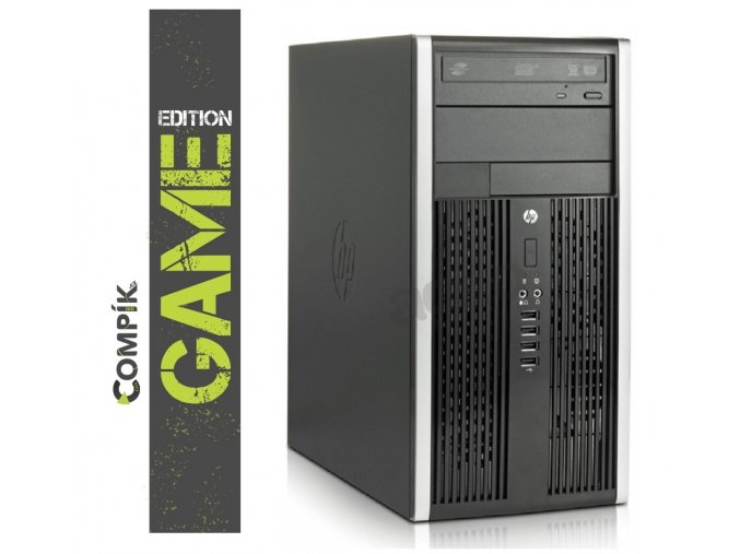 Herní PC HP s AMD A4/ Nvidia GT 1030 2GB/ 8GB/ 250GB/ DVD/ W7/10 Pro