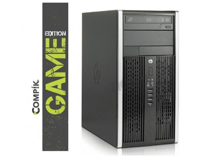 Herní PC HP s AMD A4/ AMD RX 550 4GB/ 8GB/ 250GB/ DVD/ W7/10 Pro