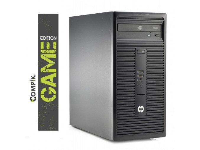 Herní PC HP s Intel i5-4440S/ Nvidia GT 1030/ 8GB/ 500GB/ DVDRW/ W7/10 Pro