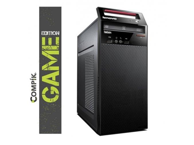 Herní PC Lenovo E73 s Intel i5-4440s/ Nvidia GT 1030 2GB/ 8GB/ 500GB/ DVDRW/ W7/10 Pro