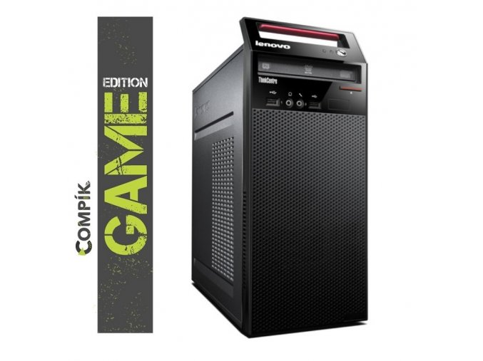 Herní PC Lenovo E73 s Intel i5-4440s/ Nvidia GTX 1050Ti 4GB/ 8GB/ 500GB/ DVDRW/ W7/10 Pro