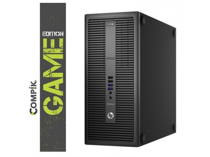 Herní PC HP 800 G2 s Intel i5-6500/ Nvidia RTX 3060 12GB/ 16GB/ 256GB SSD/ W10 Pro