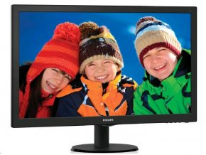 "Philips MT LED 27"" 273V5LHAB/00- 1920x1080, 10mil:1, 5ms, 300cd/m, D-Sub, DVI-D, HDMI, REPRO"