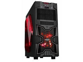 TRHÁK Herní PC AMD FX4/ 8GB DDR3/ AMD RX 550 4GB/ 1TB/ 400W