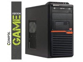 Herní PC Acer DT55 AMD/ Nvidia GTX 1050Ti 4GB / 4GB/ 250GB/ DVDRW/ W7/10 Pro