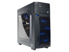 Herní PC Intel i7 8700/ 8GB/ AMD RX 550 4GB/ 2TB/ DVDRW/ 450W