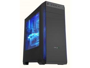 EDICE Herní PC Intel i5/ 8GB/ Nvidia GTX 1660/ 250GB/ 550W/ W10