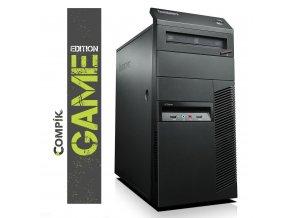 Herní PC Lenovo M91p s Intel i5-2400/ Nvidia GTX 1050Ti 4GB/ 8GB/ 250GB/ DVDRW/ W7/10 Pro