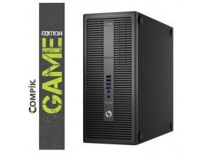 TRHÁK Herní PC HP 800 G2 s Intel i5-6500/ Nvidia GTX 1050Ti/ 8GB/ 256GB SSD/ W10 Pro