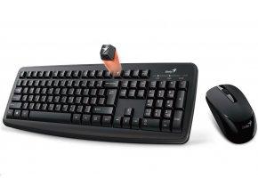 GENIUS klávesnice s myší KB-8000X - bezdrátový set