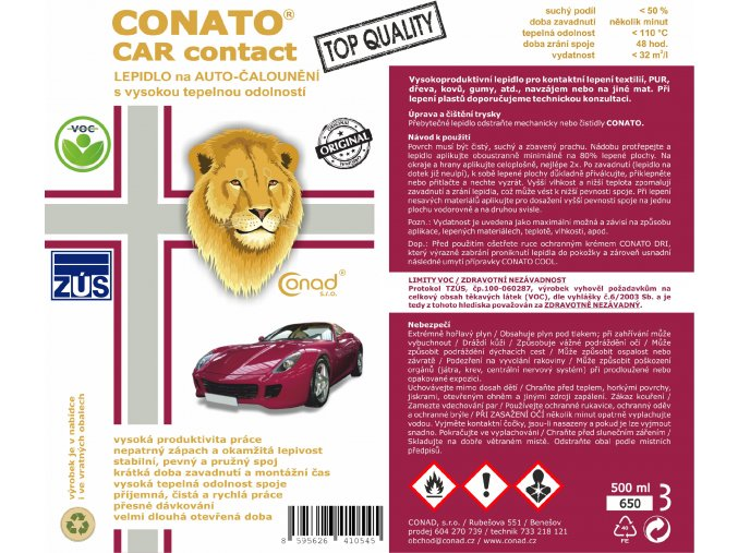 1.CONATO CAR