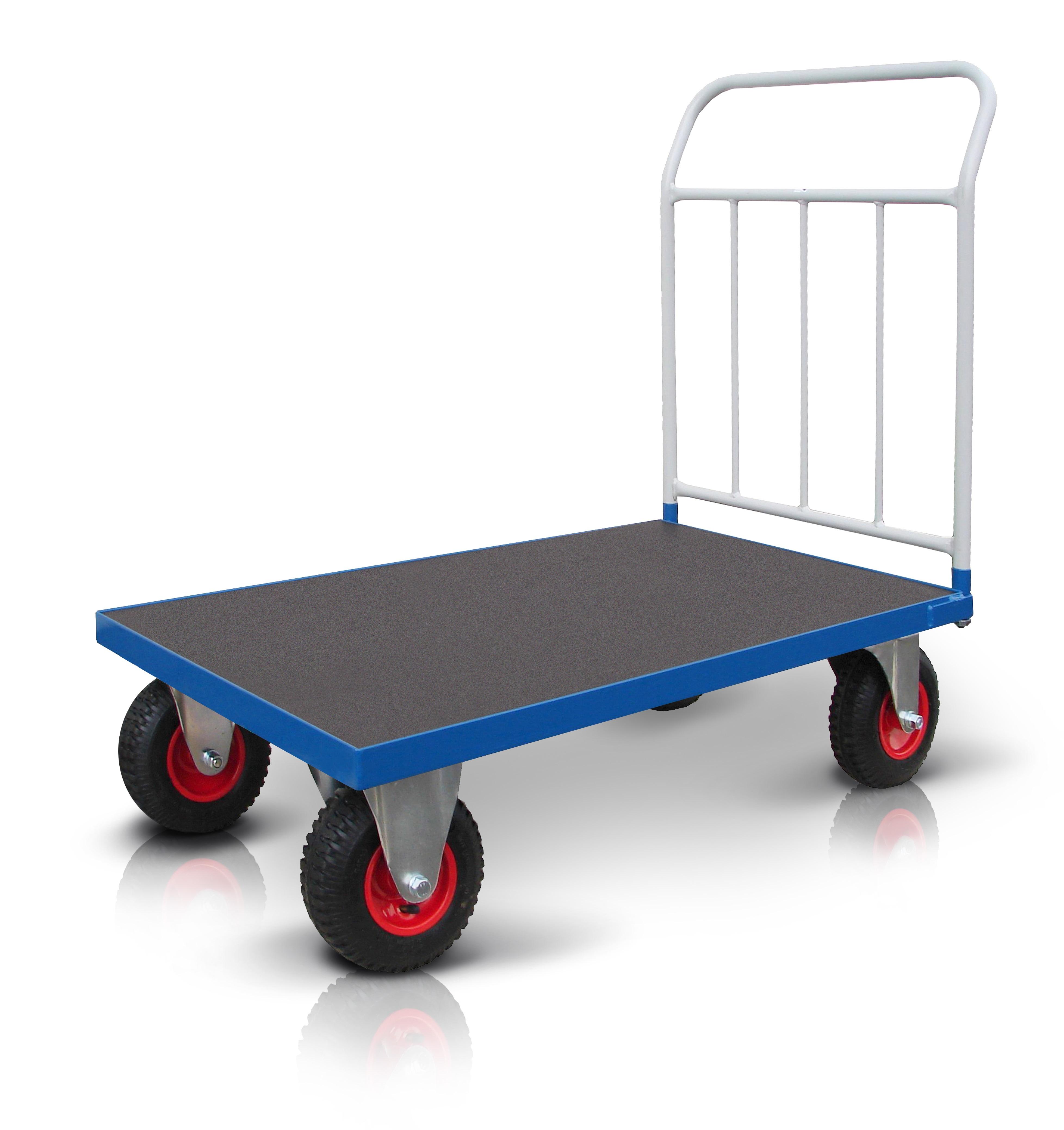 Plošinové vozíky PROFI s nafukovacími koly