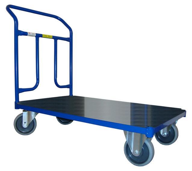Plošinové vozíky s jedním madlem