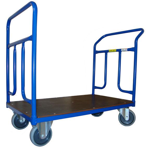 Plošinové vozíky se dvěma madly