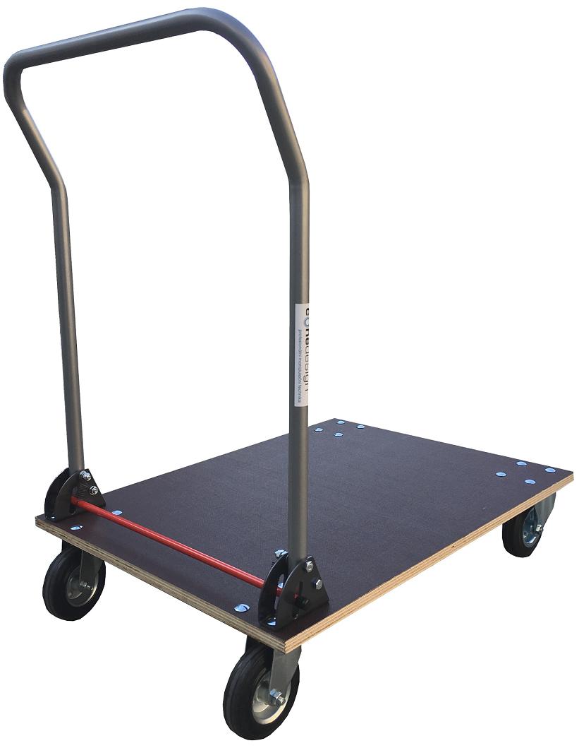 Skládací plošinové vozíky