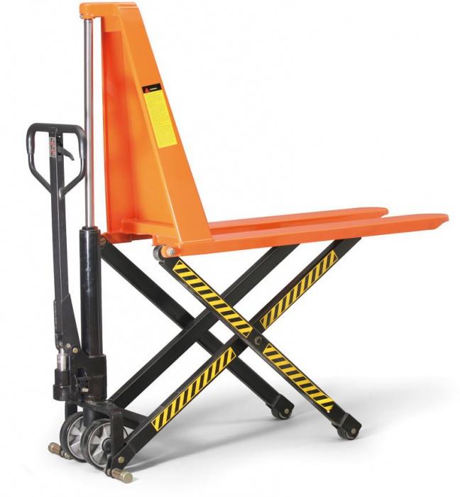 Paletové nůžkové vozíky