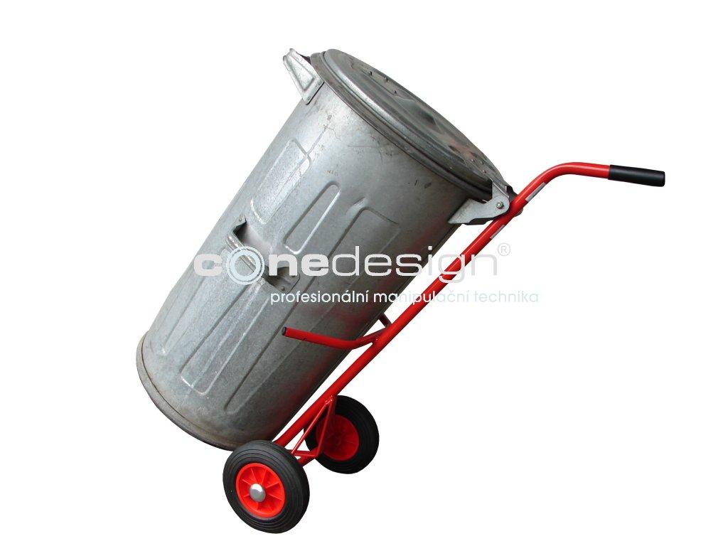 Rudl na plechové popelnice 150 kg 12007,05