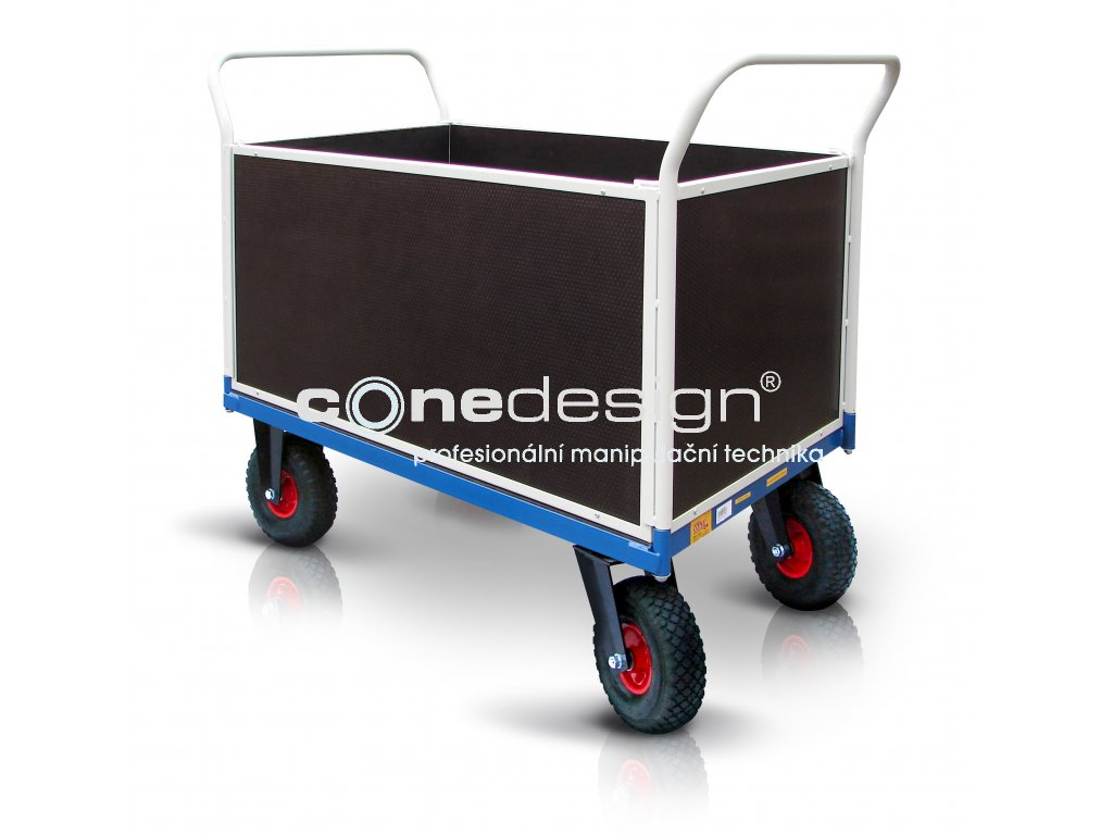 platform trolley pneumatic wheels 18 52711 42