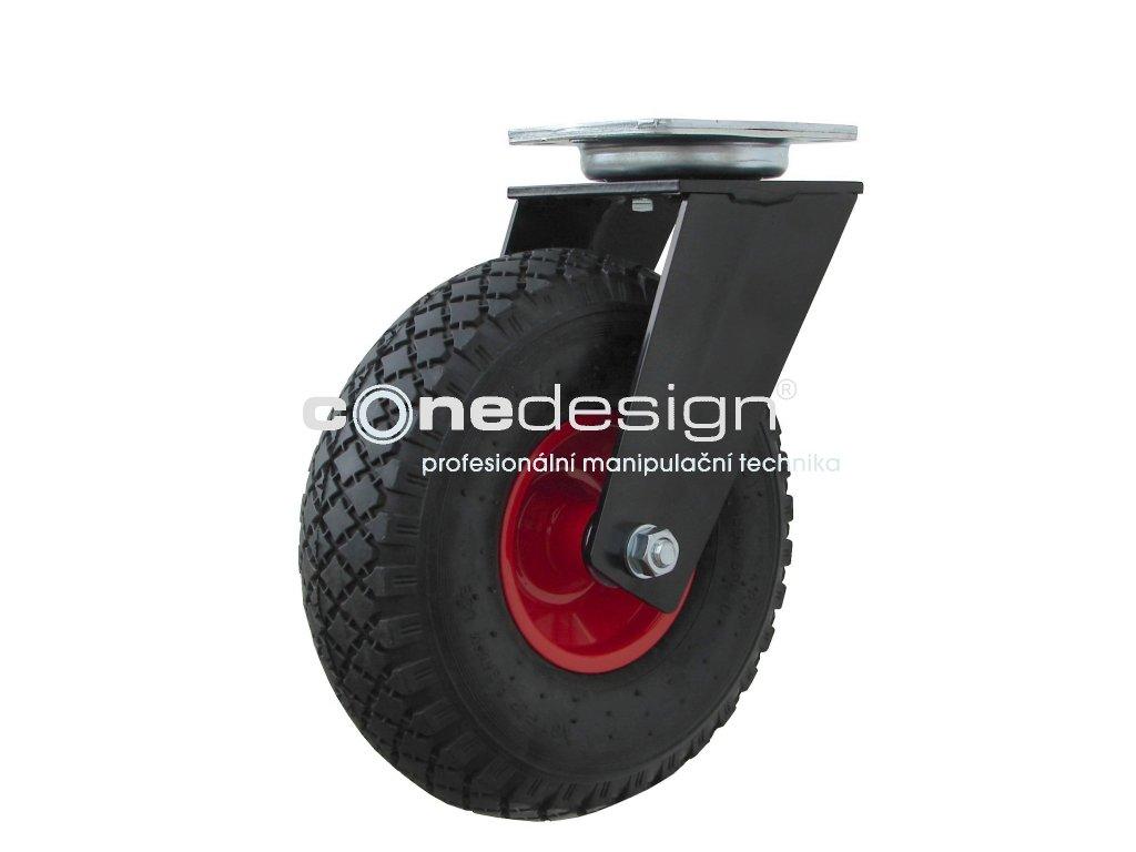 Kolečko otočné 3,00-4 130 kg 16260-07  Průměr 260 mm