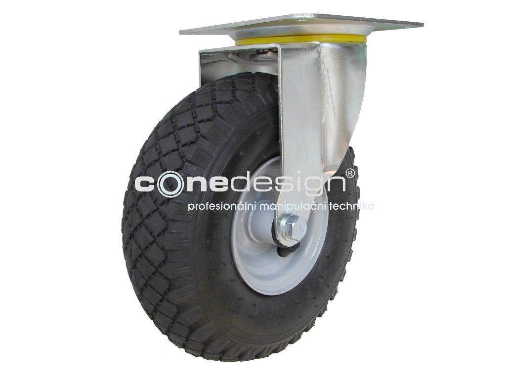 Kolečko otočné 3,00-4 130 kg 16260-11  Průměr 260 mm