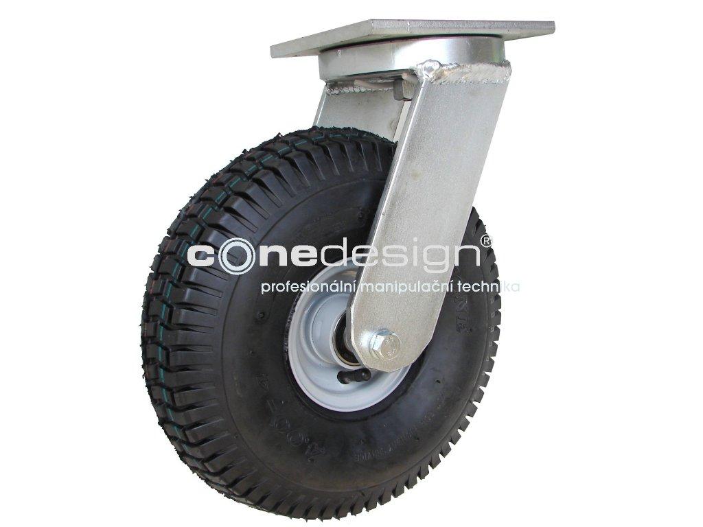 Kolečko otočné 4,00-4, 200 kg 16300-13  Průměr 300 mm