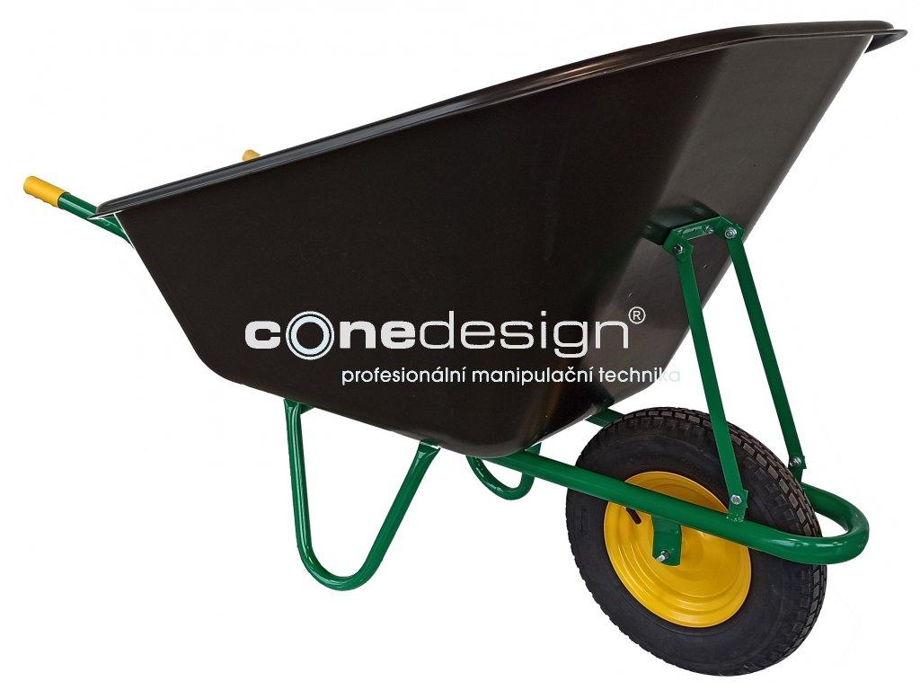 wheelbarrow zahradni kolecko basin 240l 2