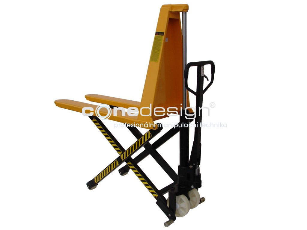 Paletový nůžkový vozík 1150 mm 1000 kg 27501-05