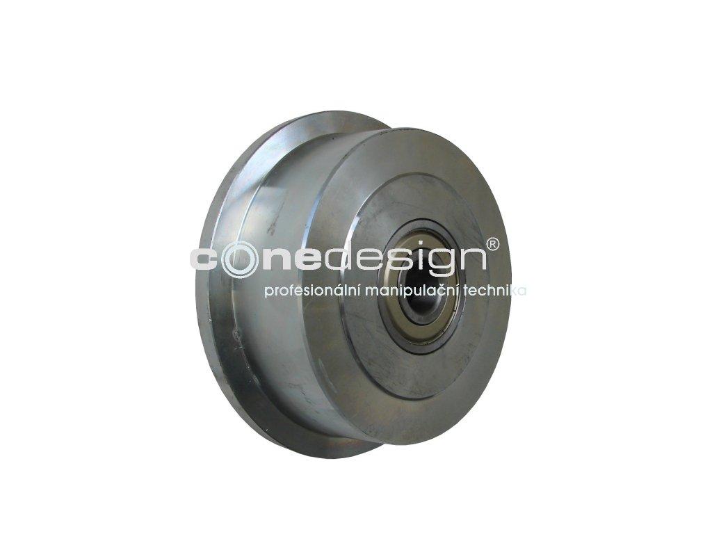 Kolečko s drážkou pro pero průměr 240 mm 1500 kg 96240-11