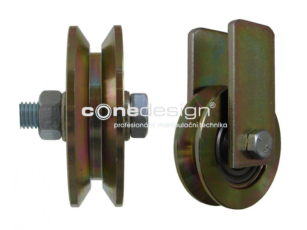 Kladka typ V s úchytem průměr 89 mm 220 kg 95089-02