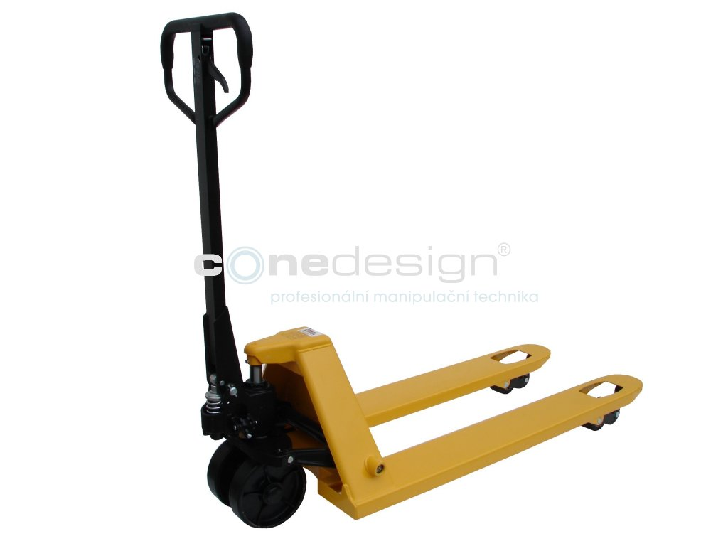 Paletový vozík PRODLOUŽENÝ 2000 kg 1500 mm 27075-21