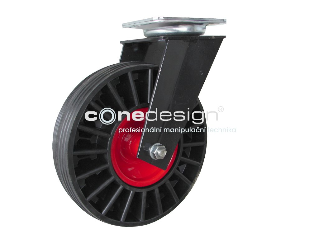 Kolečko otočné 250 mm 180 kg 20250-12