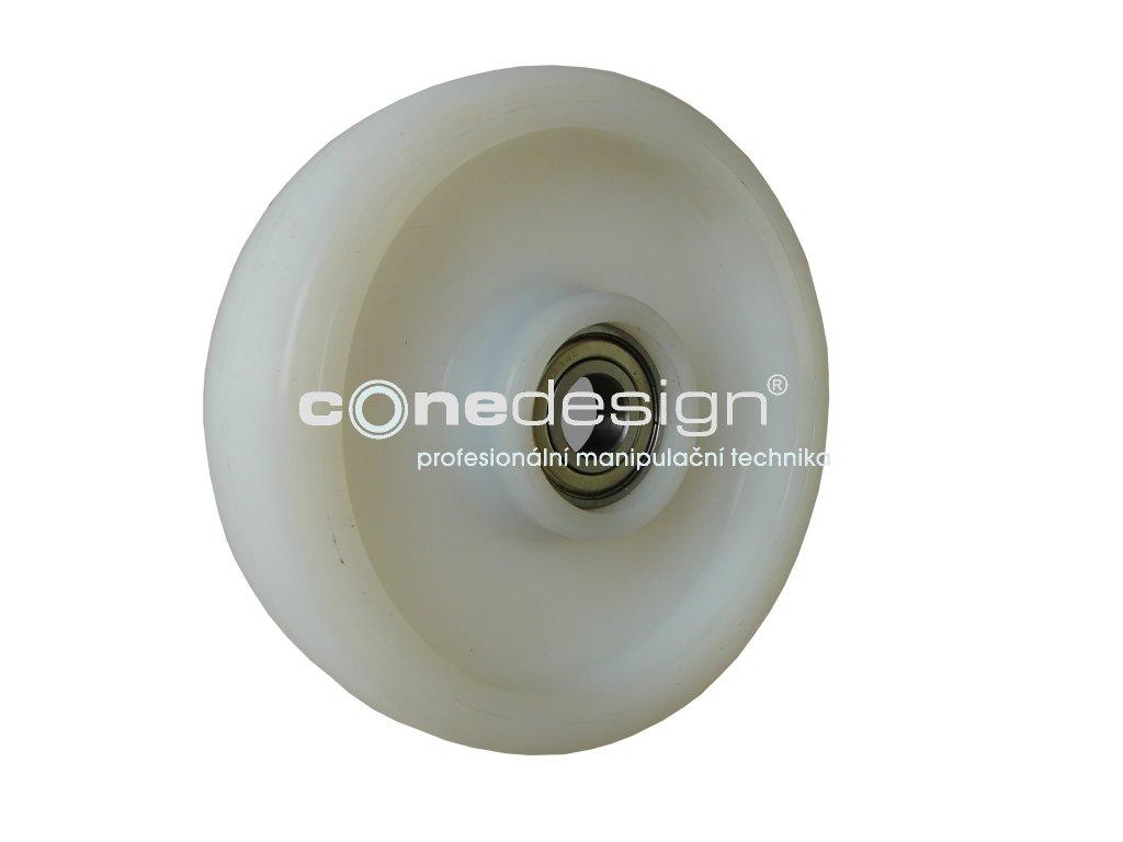 Kolečko přední polyamidové průměr 175 mm 500 kg 14175-02