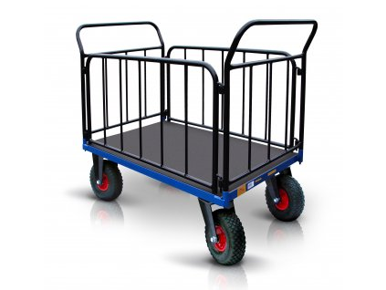 platform trolley pneumatic wheels 17 52711 42