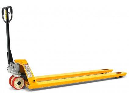 Paletový vozík PRODLOUŽENÝ 2300 kg 2500 mm 27075-08